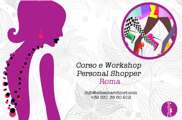 Corso personal shopper roma livello base