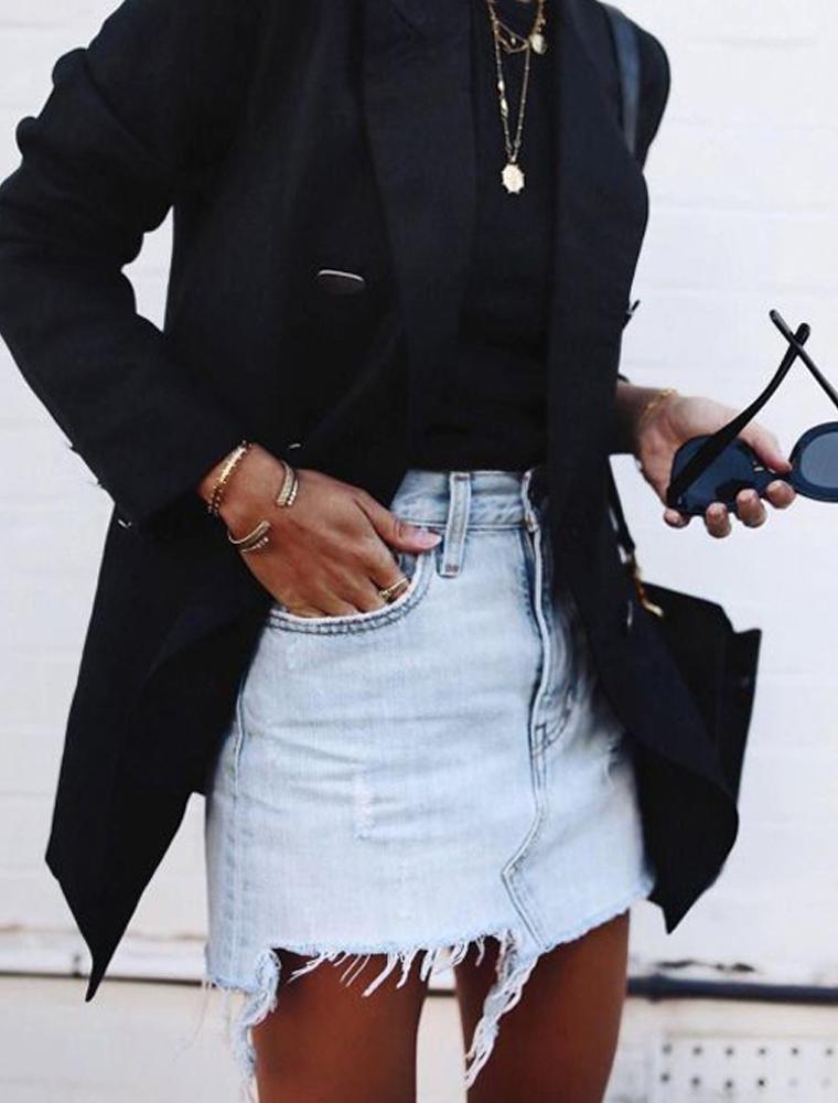 saldi 2020 minigonna jeans