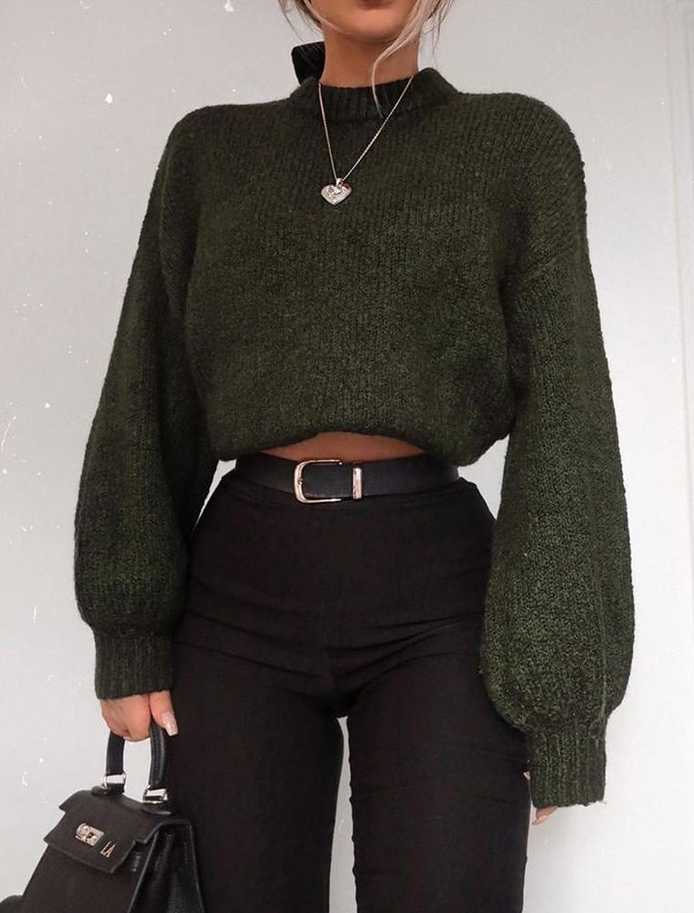 saldi 2020 maglione crop